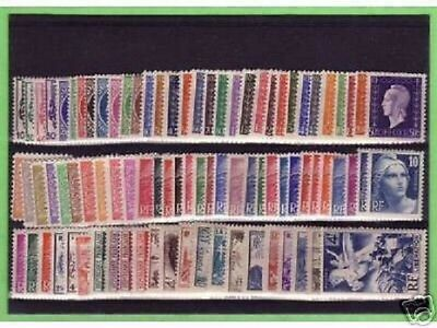 Timbres  Annee  Complete  France Neuf  Luxe  1945 +++