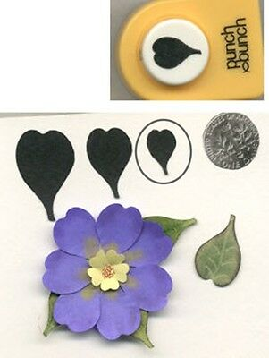 Small Perky Petal Shape Paper Punch by PB Quilling-Scrapbooking -Cardmaking