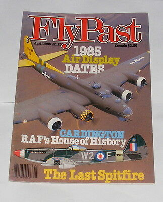 Flypast Magazine April 1985 - The Last Spitfire