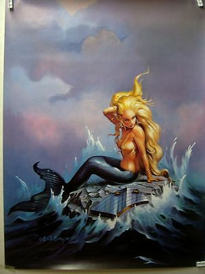 The Art of Ken Kelly Print # 30: Mermaid (USA)