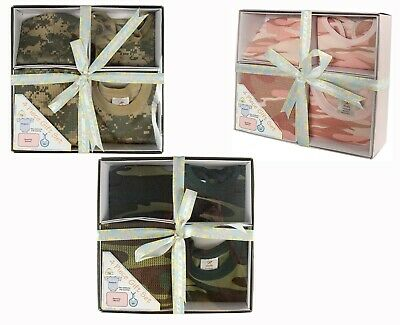Infant Baby Gift Set Camo 3 Patterns Available Cotton 4 Pieces Rothco 6995