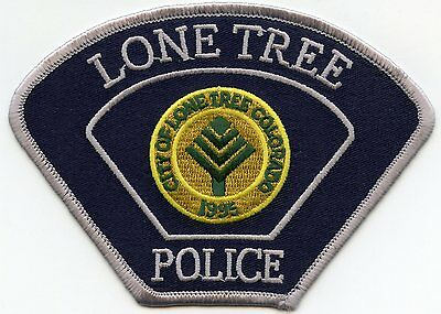 Lone Tree Colorado Co Police Patch
