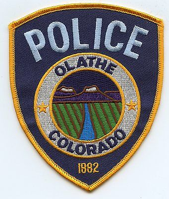 Olathe Colorado Co Police Patch