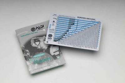 PADI Item 60099 Recreational Dive Planner Table w/instructions RDP Imperial