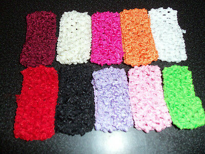 wholesale lot PICK 10 mini PREEMIE doll HEADBANDS for DAISY or korker hair bow