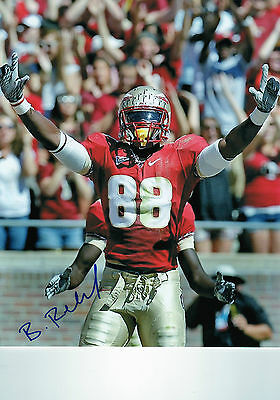 Beau Reliford auto signed 8x10 autographed football photo Florida State Redskins
