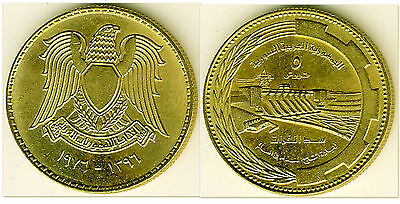 Syria 1976 5 Piastres Uncirculated (KM110)