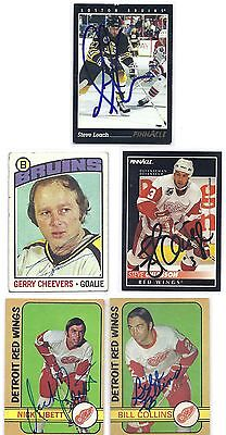 Steve Chiasson Signed Autographed Hockey Card Detroit Red Wings 1992 Deceased