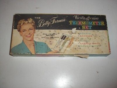 VINTAGE THE BETTY FURNESS WESTINGHOUSE THERMOMETER SET