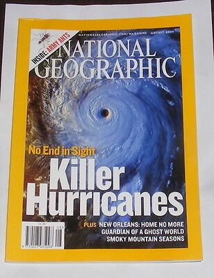 National Geographic Magazine August 2006 - Killer Hurricanes