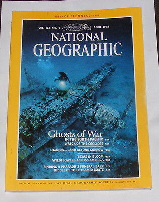 National Geographic Magazine April 1988 - Ghosts Of War
