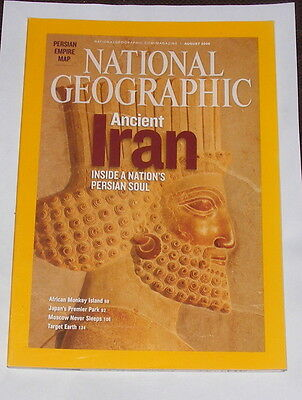 National Geographic Magazine August 2008 - Ancient Iran