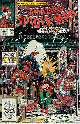 Amazing Spiderman # 314 (Todd McFarlane) (Inferno tie-in) (USA,1989)