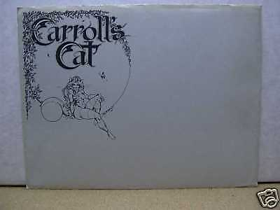 Lela Dowling: Carroll's Cat Portfolio (signed & numbered) (USA)