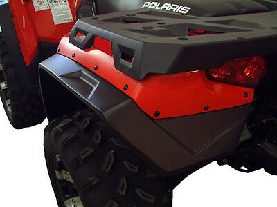Polaris Sportsman 400 500 800 Efi Atv Over Fenders Flares Mud Guards Custom Fit