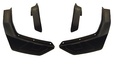 Kawasaki Brute Force 750 2012 Efi Atv Over Fenders Flares Mud Guards Custom Fit