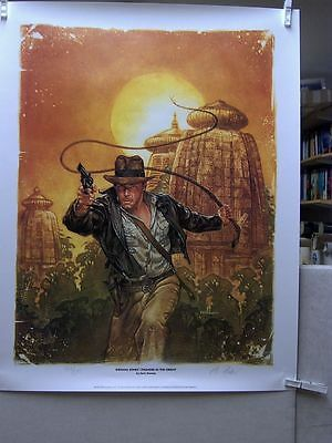 Dave Dorman: Indiana Jones - Thunder in the Orient Print (signed/nbrd.) (USA)