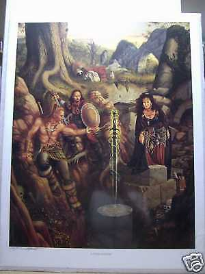 Larry Elmore: A Tense Moment Print (signed & numbered) (USA)