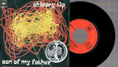 "Chicory Tip Son Of My Father (Moroder) 1972 Italy 7"" 45 Giri"