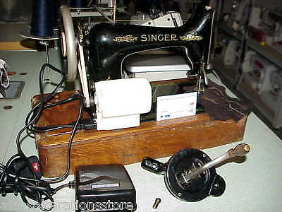 CONVERT YOUR OLD SEWING MACHINE TO ELECTRIC DRIVE.MotorSet(Machine NOT supplied)