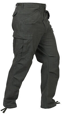 Military Style M65 Field Pants Cargo Pants Mens Fatigues Rothco 2601