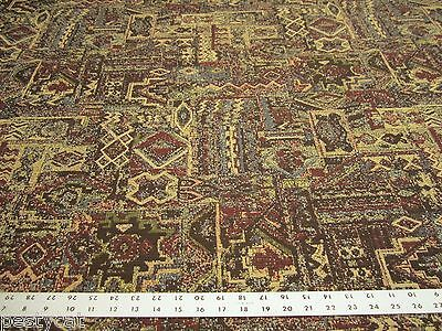 Southwest Navajo design tapestry upholstery fabric per yard ft988