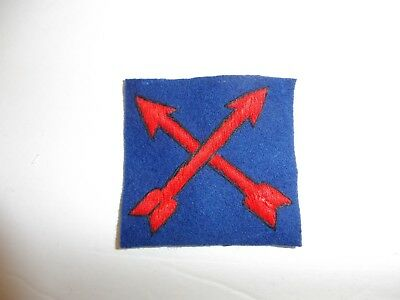 b0893 US Army 1930's 2nd Infantry Regiment DI crossed arrows PA13