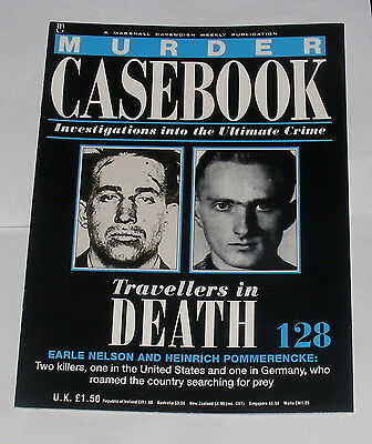 Murder Casebook Number 128 - Travellers In Death - Nelson And Pommerencke