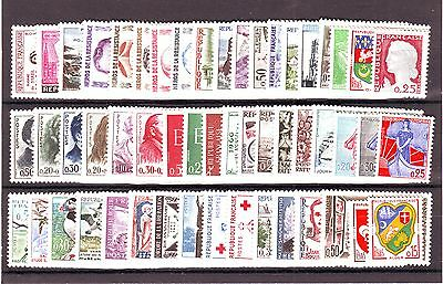 Timbres Annee Complete France Neuf Luxe 1960 +++