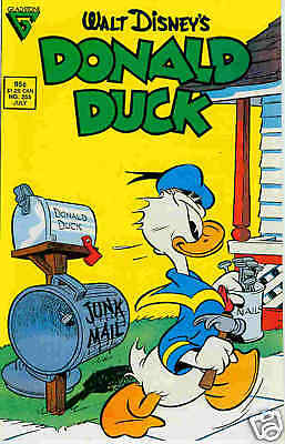 Donald Duck # 255 (Barks) (USA, 1987)