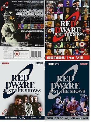 RED DWARF (1988-1999) 1-8 JUST THE SHOWS Original Seasons Series R2/4 DVD not US