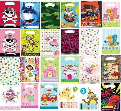 Party Bags 5-100 Fairy princess pirate farm sea pony zoo boy girl  **UK SELLER**