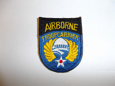 b0960 WW 2 US Army  Airborne Troop Carrier Patch