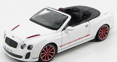 Bentley Continental Supersports Convertible Isr 2011 White Burago 11035 1/18