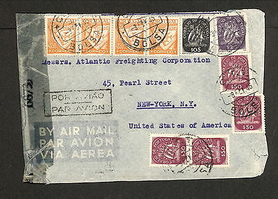 PH5047 Military Postal History Cover Portugal to USA