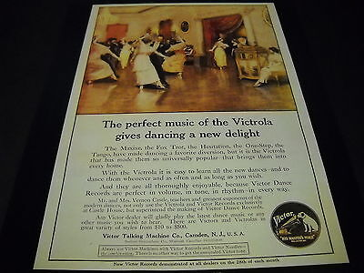VICTOR TALKING MACHINE CO Victrola 1917/1994 PROMO DISPLAY AD mint condition