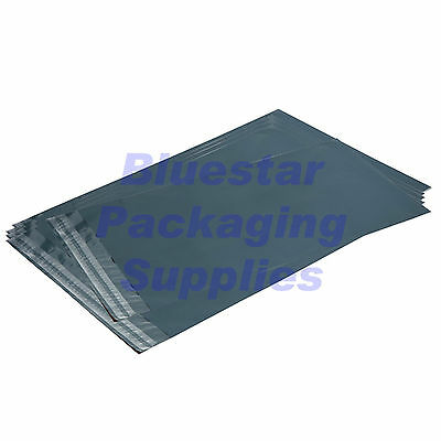 """200 Grey Poly Mailing Bags 120 x 170mm (4.5 x 6.5"""") FREE Postage"""