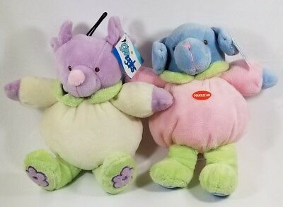 Grriggles Puppy Buddies plush squeaker dog toys toy puppy
