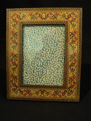Italian SORRENTO WARE Inlaid Wood Picture Frame