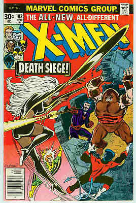 (Uncanny) X-Men # 103 (Dave Cockrum, Chris Claremont autograph) (USA, 1977)