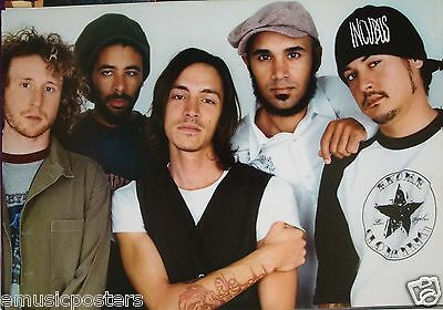 "Incubus ""group Standing Together With Brandon's Hand On His Arm"" Asian Poster"