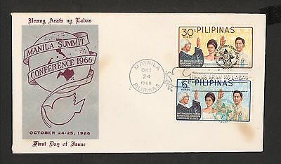 WC5396 1966 Philippines First Day Cover