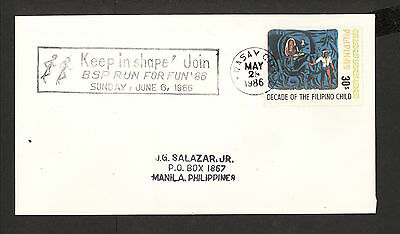 WC5408 1986 Philippines First Day Cover