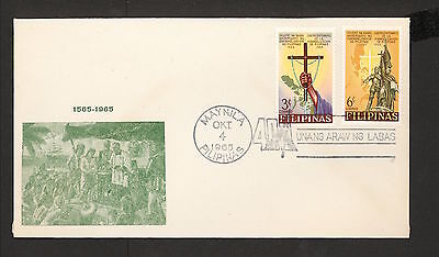 WC5423 1965 Philippines First Day Cover