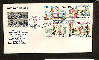 WC5444 1969 Philippines First Day Cover