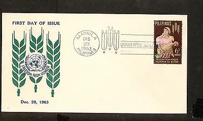 WC5448 1963 Philippines First Day Cover