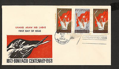 WC5449 1963 Philippines First Day Cover