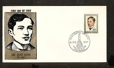 WC5460 1977 Philippines First Day Cover