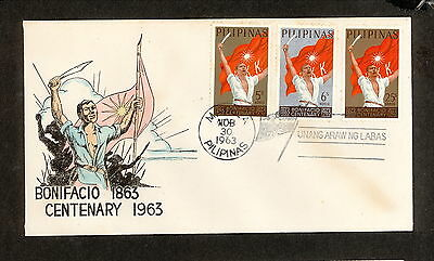 WC5470 1963 Philippines First Day Cover