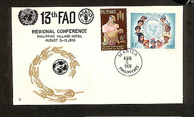 WC5479 1976 Philippines First Day Cover